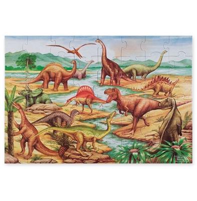 Obrázek z Melissa & Doug Podlahové puzzle Země Dinosaurů