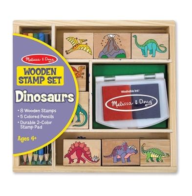 Obrázek z Melissa & Doug Sada razítek s motivem dinosaurů