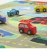 Obrázek z Melissa & Doug Dětský koberec Město s dřevěnými autíčky