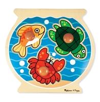 Obrázek Melissa & Doug Dřevěné puzzle pro nejmenší - akvárium