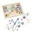 Obrázek z Melissa & Doug Dřevěné korálky - motýlci