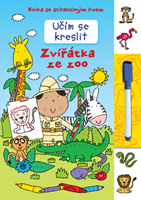 Obrázek Učím se kreslit – Zvířátka ze zoo