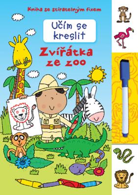 Obrázek z Učím se kreslit – Zvířátka ze zoo