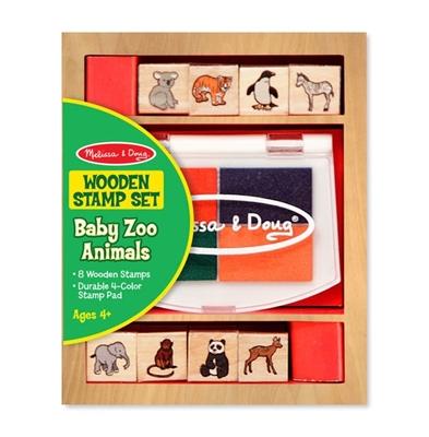 Obrázek z Melissa & Doug Sada razítek zvířátka ZOO