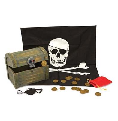 Obrázek z Dřevěná pirátská truhla Melissa & Doug