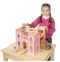 Obrázek Růžový skládací hrad pro princeznu Melissa & Doug