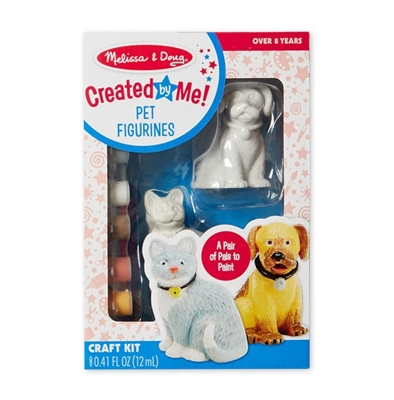 Obrázek z Figurky k vymalování pejsek a kočička Melissa & Doug