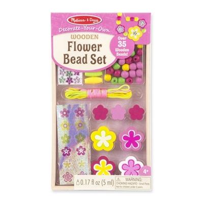Obrázek z Dřevěné korálky květiny 35+ks Melissa & Doug