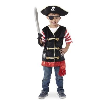 Obrázek z Karnevalový kostým pirát Melissa & Doug