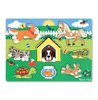 Obrázek Dřevěné puzzle farma Melissa & Doug