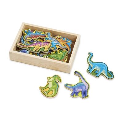 Obrázek z Melissa & Doug - Dřevěné magnety Dino