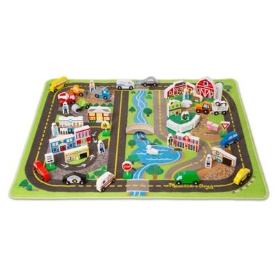 Obrázek z Melissa & Doug - Luxusní hrací koberec s příslušenstvím