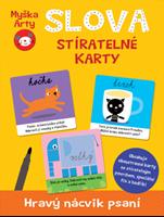 Obrázek Myška Arty - Slova - stíratelné karty